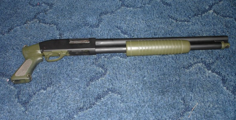 High Standard Shotgun